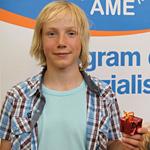 Najlepszy student VIII edycji AME w Warszawie: Mateusz Zaremba