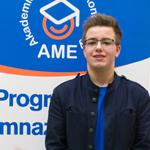 Najlepszy student V edycji AME w Katowicach: Grzegorz Łacinnik